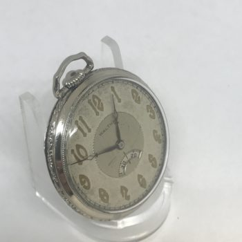 1928 Waltham 14K Solid White Gold 17J 1235