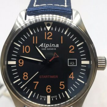 Alpina Startimer Pilot Watch