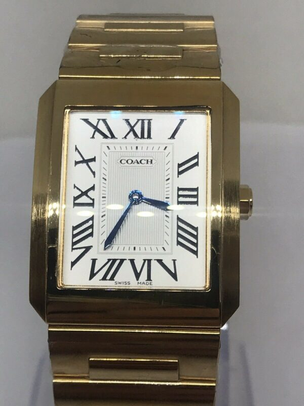 Coach Stainless Steel Watch