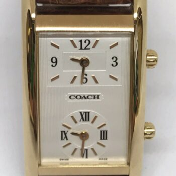 Coach Traveler Dual Time Watch