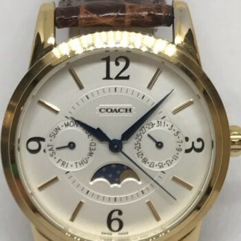 Coach Triple Calendar Watch